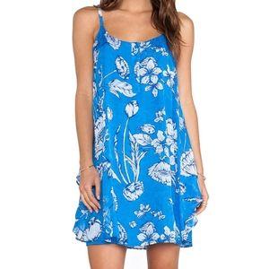 Alice + Olivia Rhi Tiered Hem Ladybug Tank Dress S